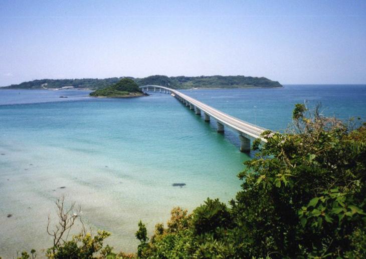 ソフィール導入事例:角島大橋